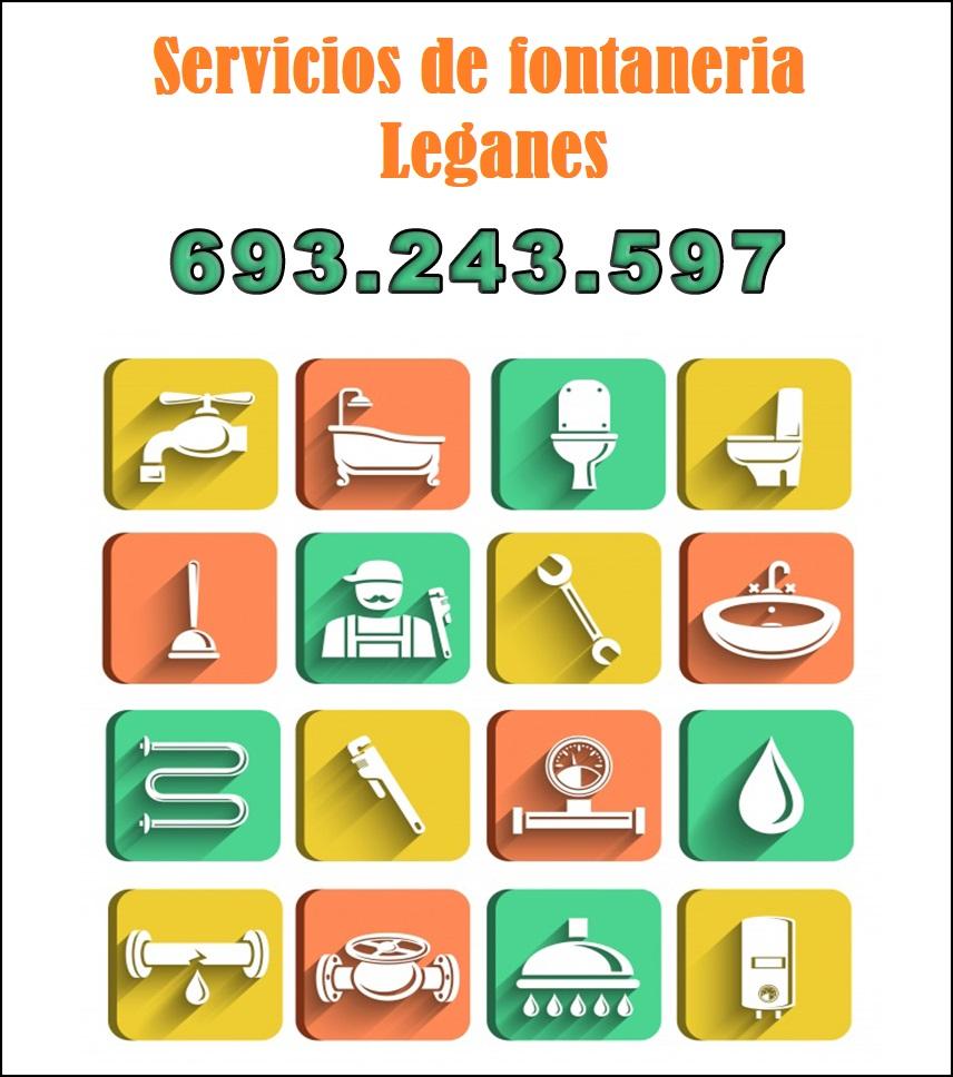 servicios de fontaneria en leganes